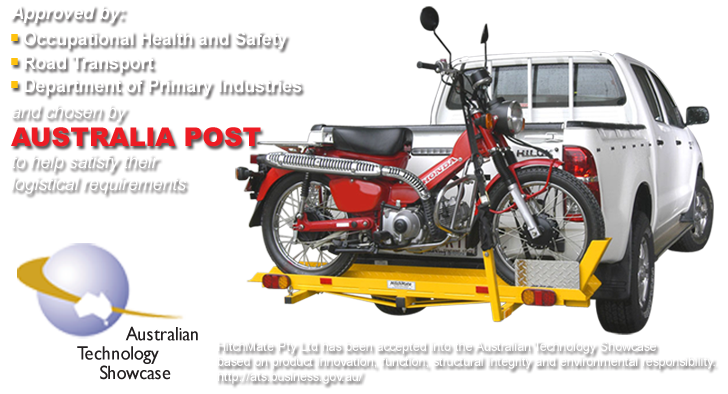 Hitchmate Cargo Carriers Motorcycle Carriers Aluminium